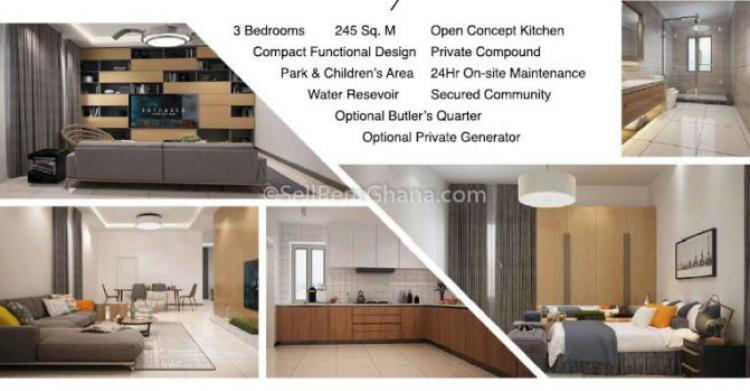 For Sale 4 Bedroom Townhouse Tema Accra 4 Beds 4 Baths Ghana Property Centre Ref 4146