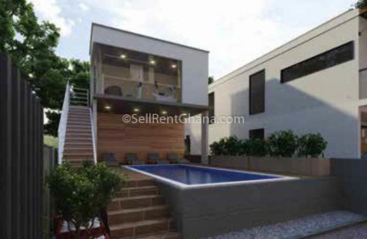 1,2 & 3 Bed Apartment & Townhouse, East Legon, Accra, Flat for Sale