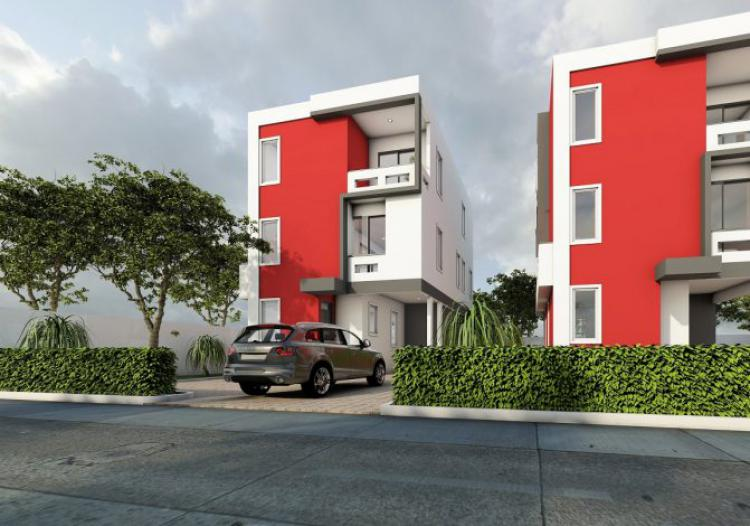 3 Bedroom Townhouse, La Dade Kotopon Municipal, Accra, Townhouse for Sale