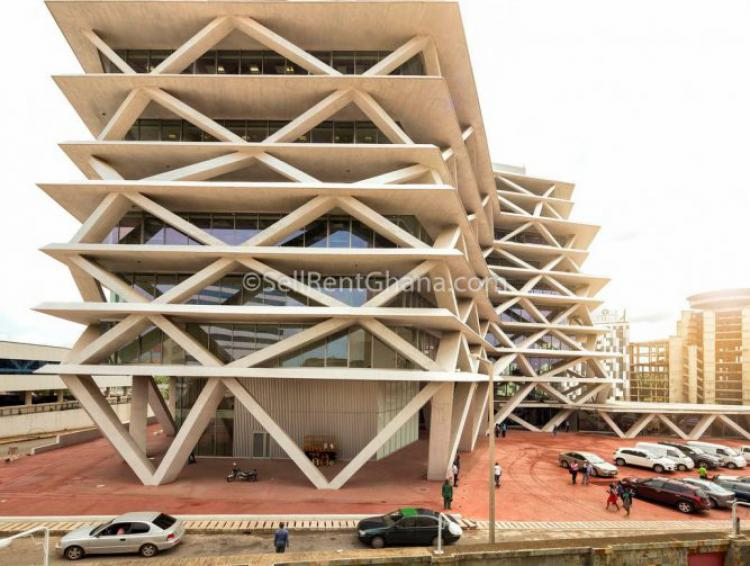 Commercial - 9 Storey Office & Retail Prop, Airport Residential Area, Accra, Commercial Property for Rent