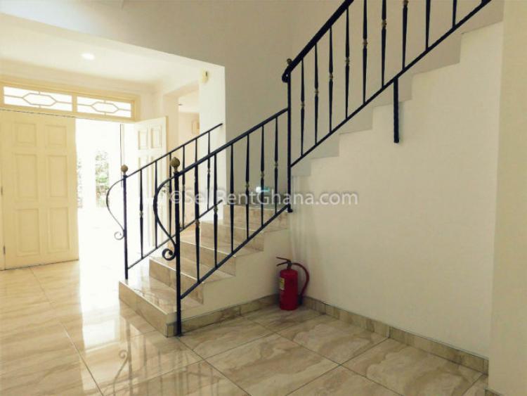 4 Bedroom Semi-detached Townhouse, Cantonments, Accra, Semi-detached Duplex for Rent