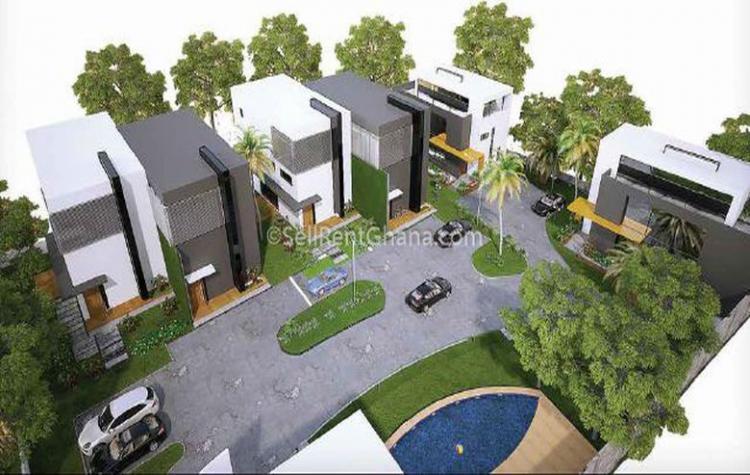 4 Bedroom Townhouses + Staff Quarters, Cantonments, Accra, Detached Duplex for Sale