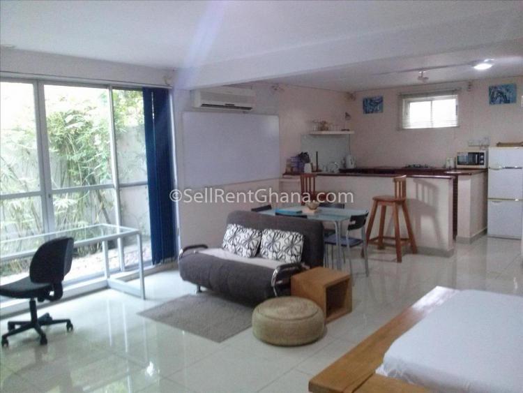 Studio Apartment, Cantonments, Accra, Flat for Rent