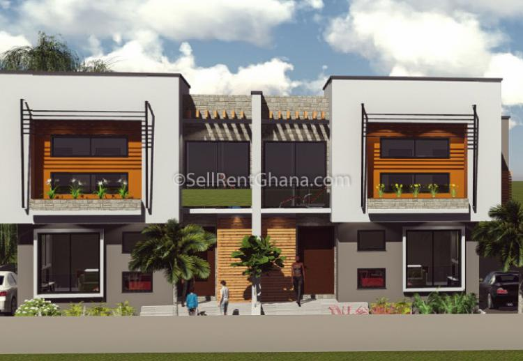 4 Bedroom Townhouse, East Airport, Airport Residential Area, Accra, Townhouse for Sale