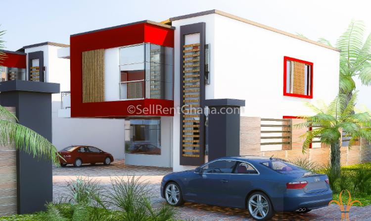 4 Bedroom Townhouse, Cantonments, Accra, Detached Duplex for Sale