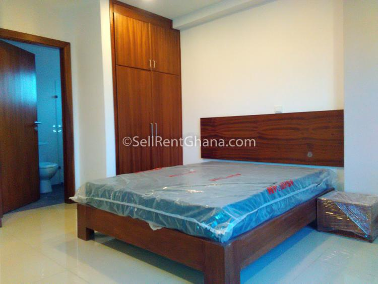 1,2 Bedroom Furnished Apartment, East Legon, Accra, Flat for Rent