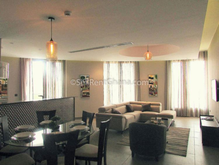 3 Bedroom Boutique Apartment, Airport Residential Area, Accra, Flat for Rent