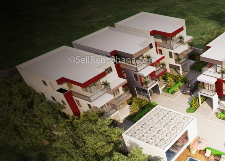 2 Bedroom Apartment, Dzorwulu, Accra, Flat for Sale