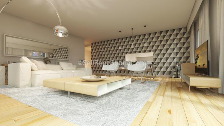 1-3 Bedroom Luxury Apartment, East Legon, Accra, Flat for Sale