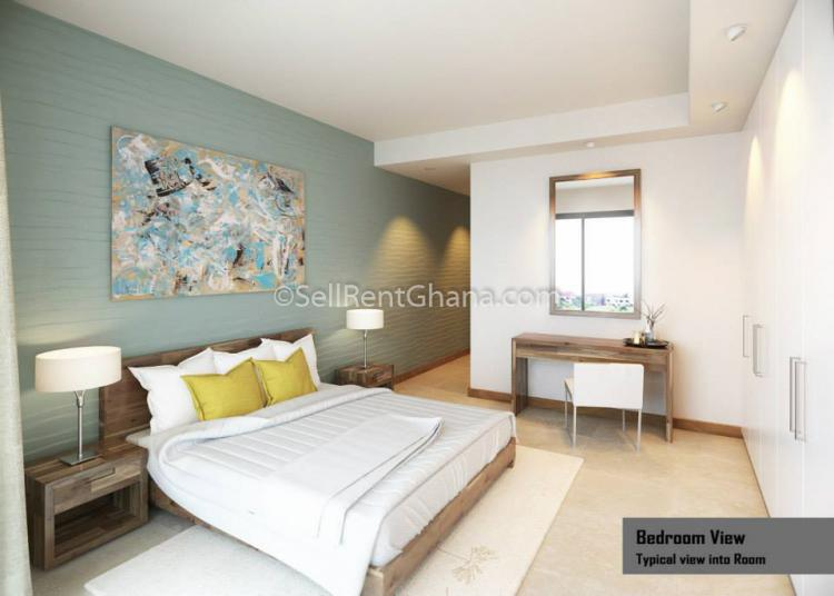 1-3 Bedroom Apartment + Penthouse, East Legon, Accra, Flat for Sale