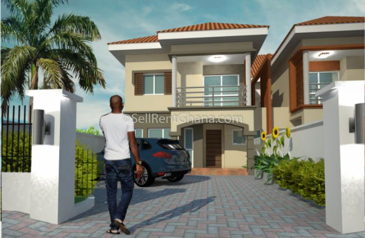 2,3 & 4 Semi-detached Storey Townhouse, East Airport, Airport Residential Area, Accra, Townhouse for Sale