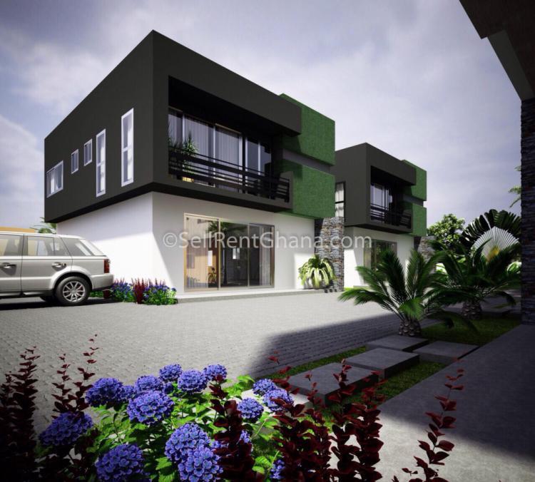 3 Bed Townhouse + Boys Quarters, La Dade Kotopon Municipal, Accra, Townhouse for Sale