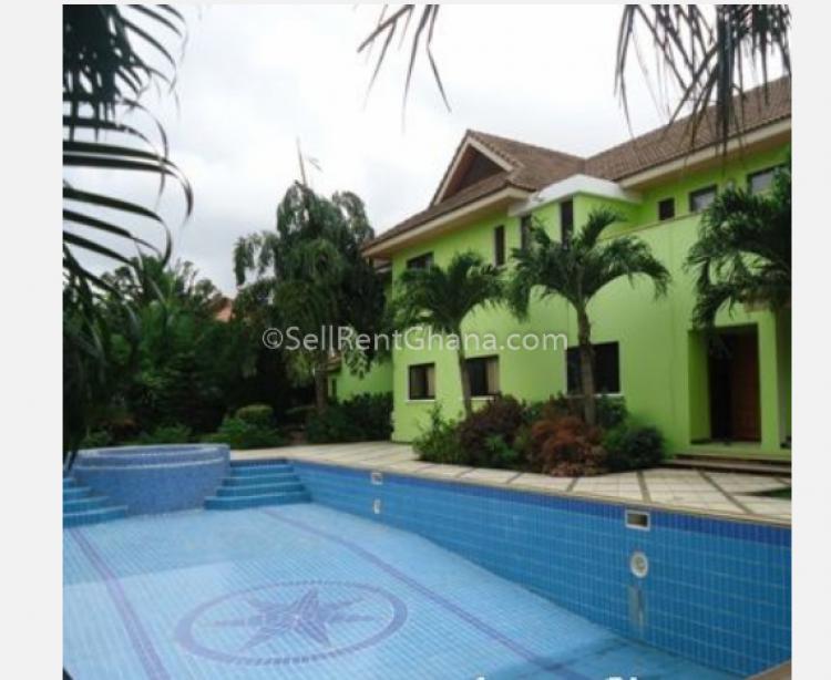 5 Bedroom House, Trassaco, Adjiringanor, East Legon, Accra, Detached Duplex for Sale