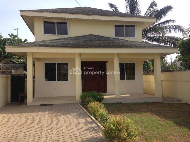 4 Bedroom House with 1 Room Boys Quarters, Cantonments, Accra, House for Rent