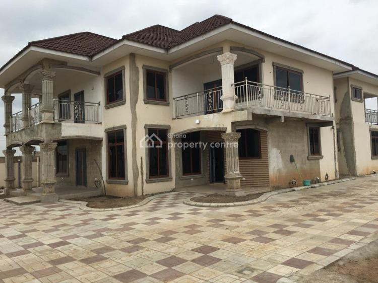7 Bedroom House with an Extra 70 X100 Plot, Afienya, Tema, Accra, House for Sale