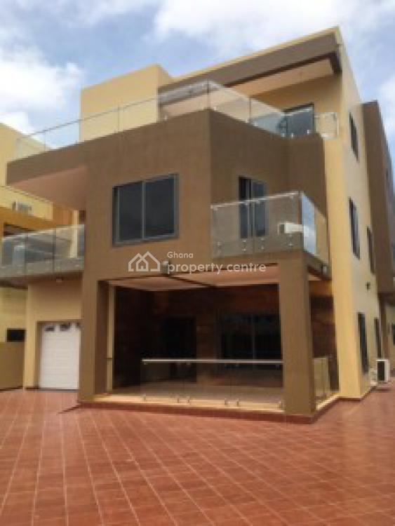 an Executive 5 Bedrooms House with 1 Bedroom Boys Quarters, East Legon, Accra, House for Rent