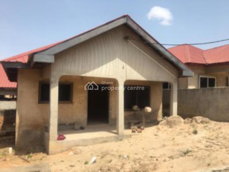 Uncompleted 2 Bedroom House, Kwabenya Acp Road, Afigya-kwabre, Ashanti, House for Sale