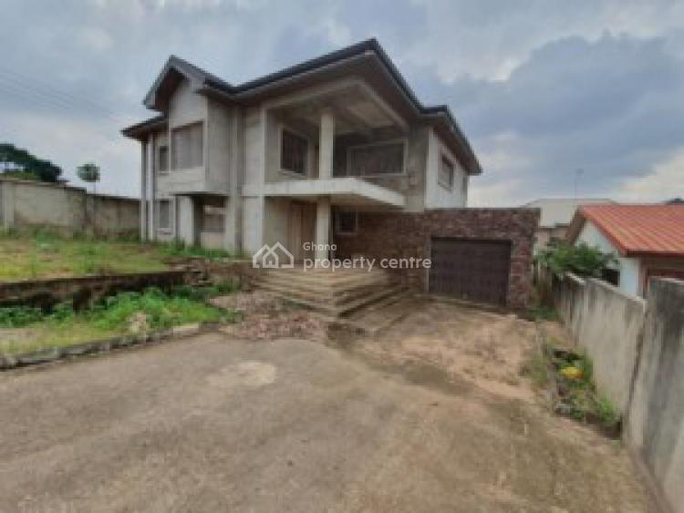 an Uncompleted 4 Bedrooms House with 1 Bedroom Boys Quarters, Ashongman Estate, Accra Metropolitan, Accra, House for Sale