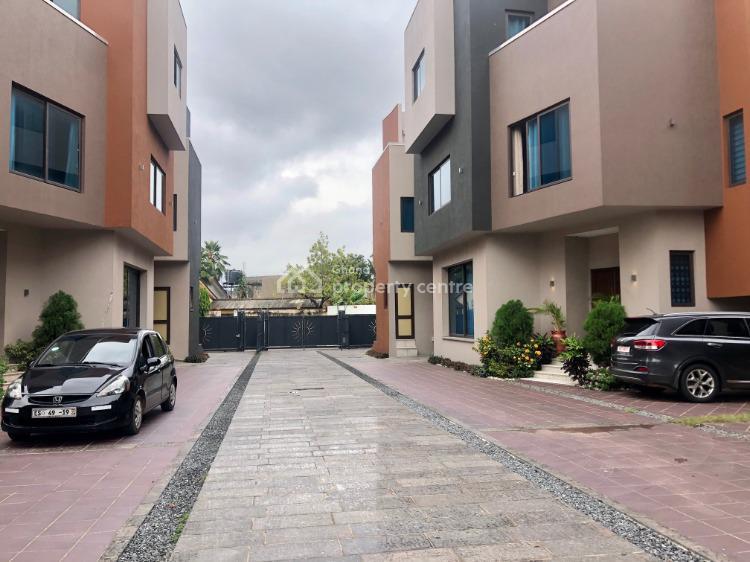 4 Bedroom + 1 Bedroom Boys Quarters in Airport West, Airport West, West Airport, Airport Residential Area, Accra, Townhouse for Rent