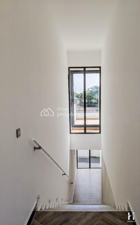 Newly Built 4 Bedroom Townhouse in Airport Residential Area, Roman Ridge, Accra, Townhouse for Sale