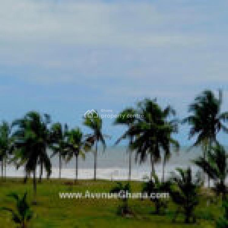 a 5 Acre Beach Land, Elmina Beach, Komenda/edina/eguafo/abirem Municipal, Central Region, Land for Sale