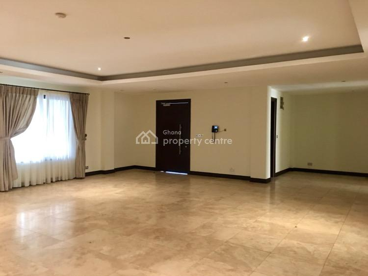 3 Bedroom Apartment in Airport Residential Area, Airport Residential Area, Accra, Self Contained (single Rooms) for Rent