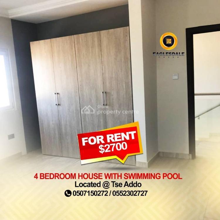 4 Bedroom Townhouse, Tse Addo, La Dade Kotopon Municipal, Accra, Townhouse for Rent
