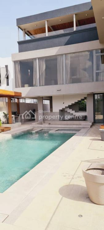 7 Bedroom Luxury Detached House, East Airport, East Airport, Airport Residential Area, Accra, Detached Duplex for Sale