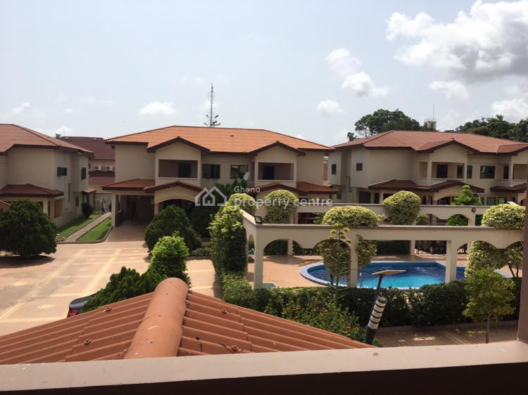 Furnished 4 Bedroom Townhouse in Cantonments, Cantonments, Accra, Townhouse for Rent