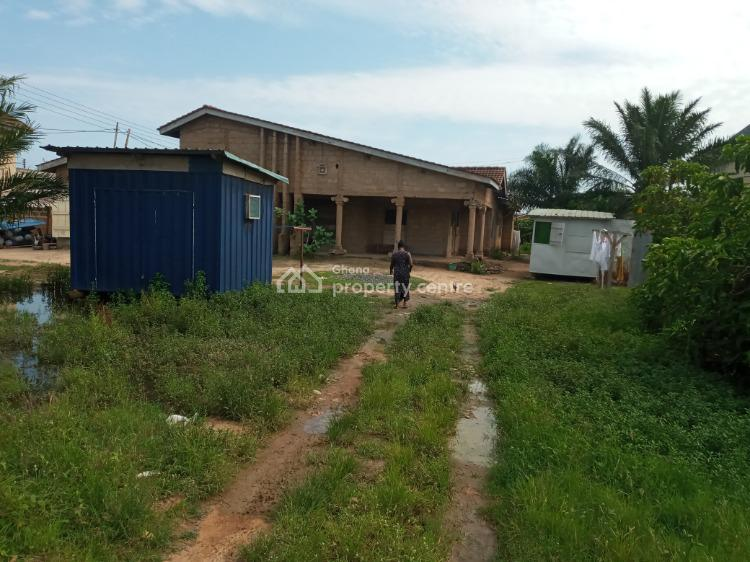 Uncompleted Four Bedroom House on a Two Plot, Community Eighteen, Community 18, Tema, Accra, House for Sale