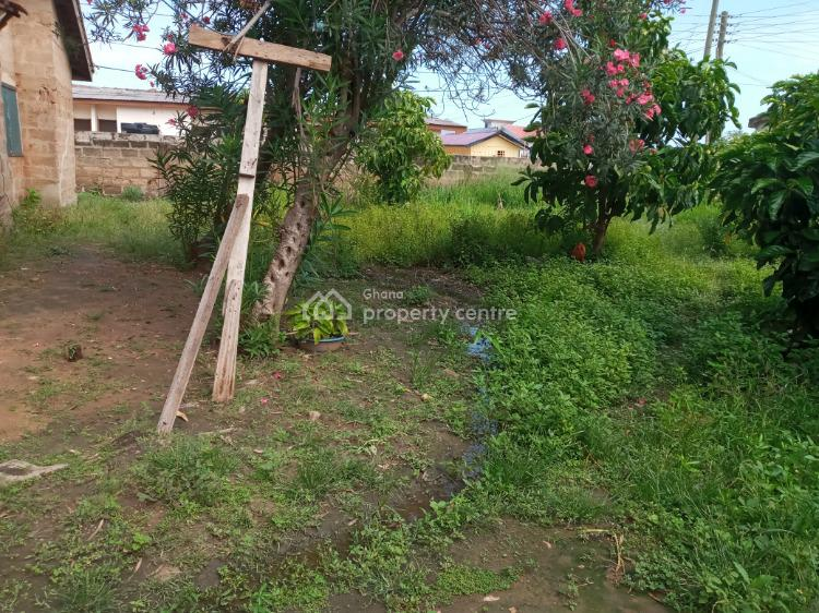 Two Plots of Land Plus 4 Bedroom Uncompleted, Community Eighteen, Community 18, Tema, Accra, Land for Sale