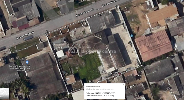 2 Plot with Property on Land at South La Estates, 2nd Otswe Street, South La Estates, La (labadi), La Dade Kotopon Municipal, Accra, Residential Land for Sale