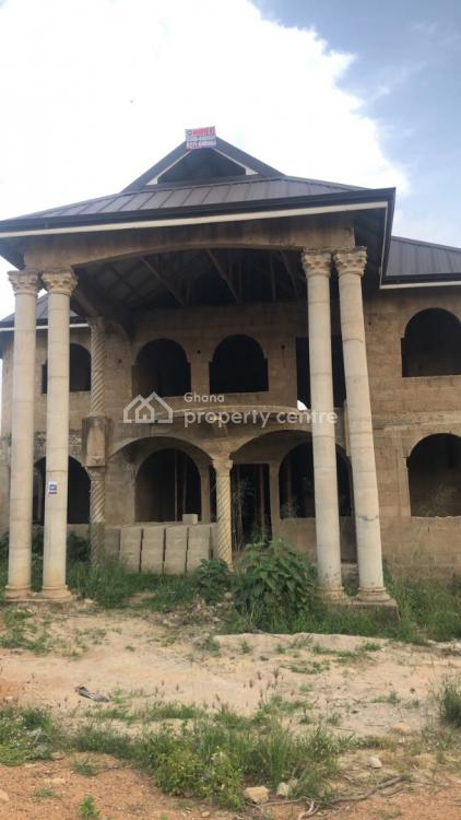 8 Bedroom Story Building Uncompleted, Afrancho, Afigya-kwabre, Ashanti, Townhouse for Sale