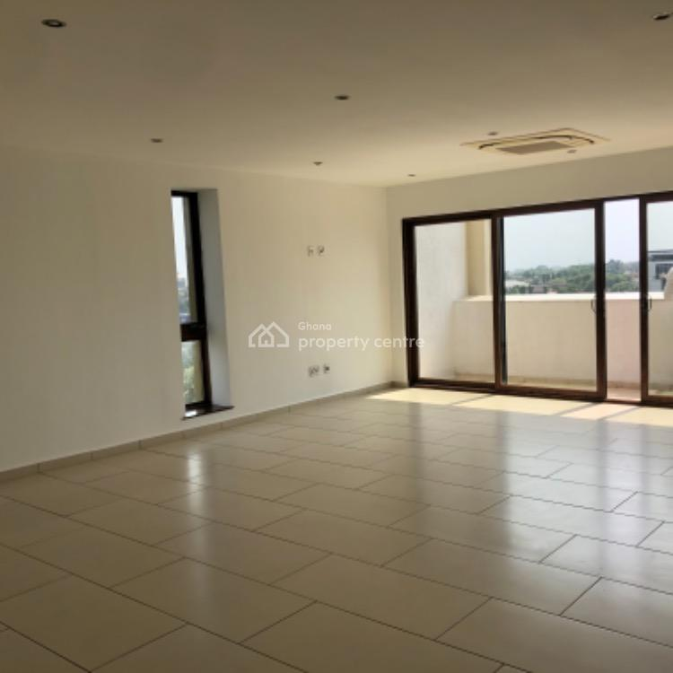 Luxury 3 Bedroom Apartment (unfurnished), West Airport, Airport Residential Area, Accra, Self Contained (single Rooms) for Rent