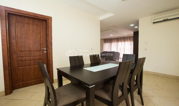 3 Bedroom Fully Furnished Apartment, Cantonments, Accra, Self Contained (single Rooms) for Rent