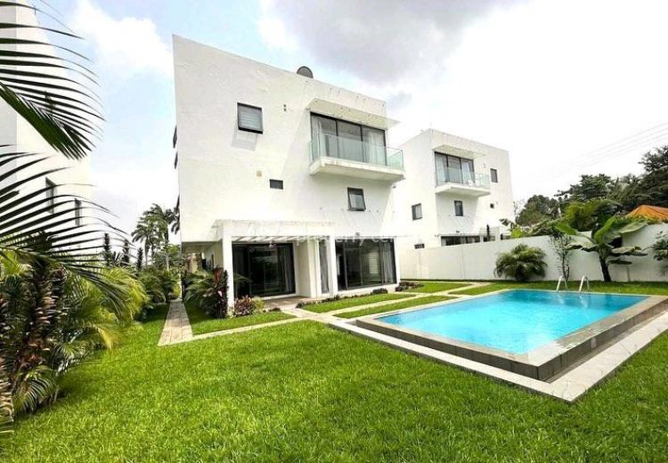 4 Bedrooms House  with Swimming Pool, Airport Residential Area, Airport Residential Area, Accra, Detached Duplex for Rent
