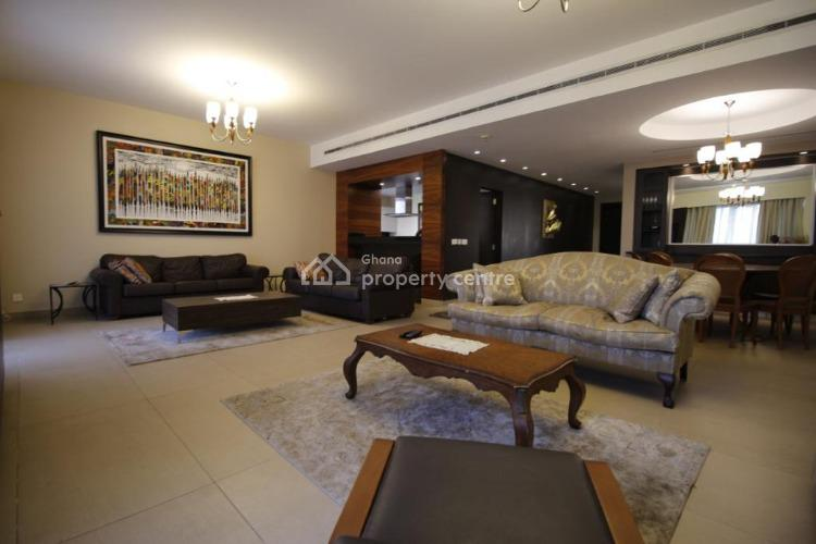 4 Bedroom Furnished Townhouse, Independence Avenue, Accra Metropolitan, Accra, Townhouse for Rent