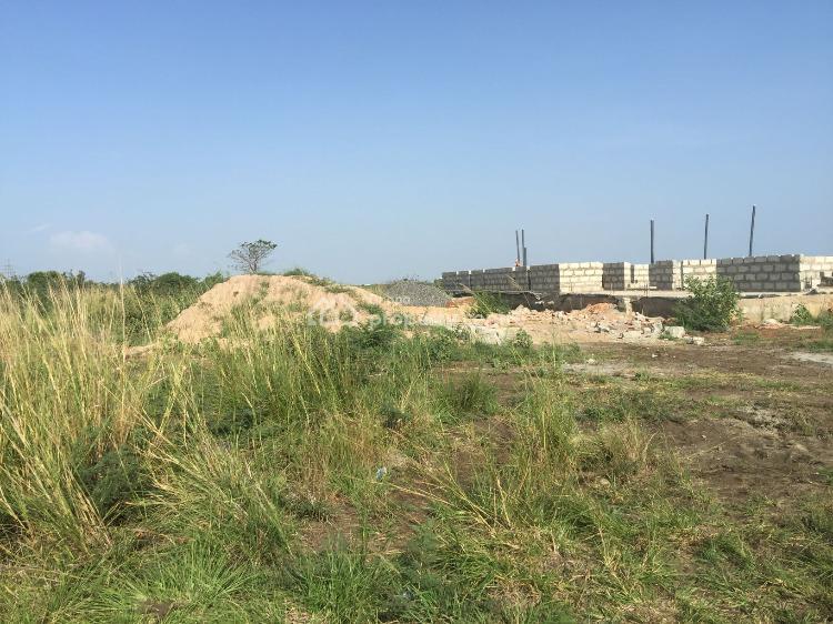 Half Plots By The Roadside, Central University, Dawhenya, Ningo Prampram District, Accra, Residential Land for Sale