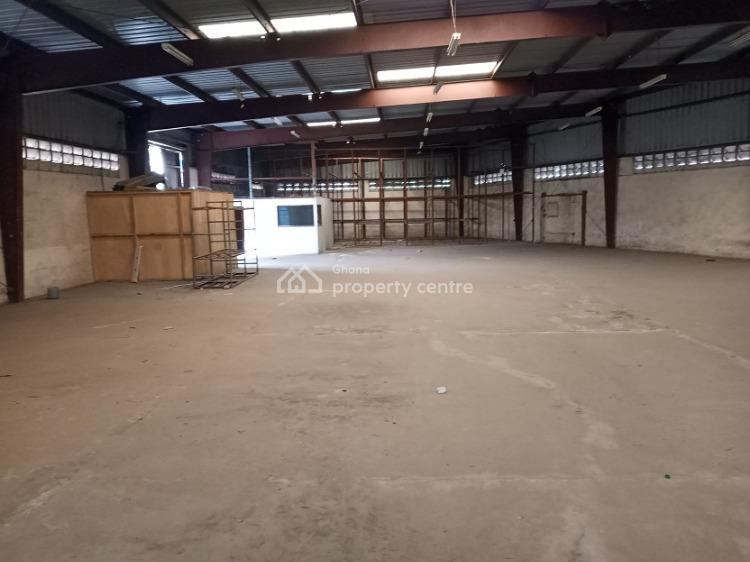 2200 Sqm Warehouse in South Industrial, South Industrial Area, South Kaneshie, Accra, Warehouse for Rent