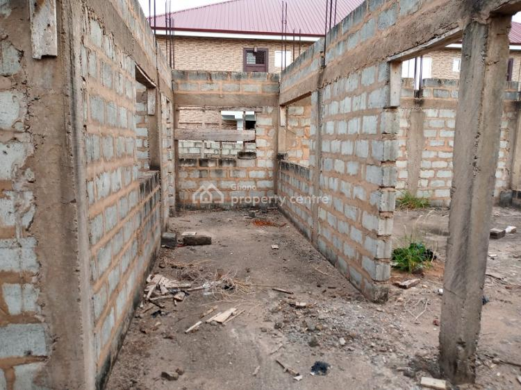 Uncompleted 4 Bedrooms  on 2 Plots, Sakumono Close to Spintex, Tema, Accra, Townhouse for Sale