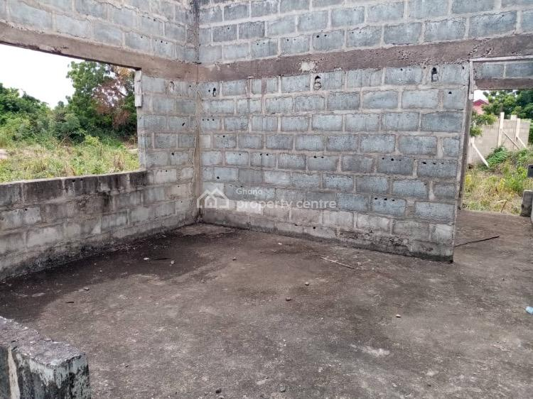 Uncompleted 2 Bedroom House, Saasabi, Oyibi, Accra, Detached Bungalow for Sale