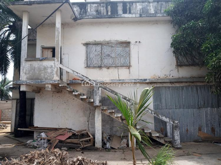 Old Property on 1plot of Title Land Freehold Fence Walled in Usd, Osu, Osu, Accra, Mixed-use Land for Sale