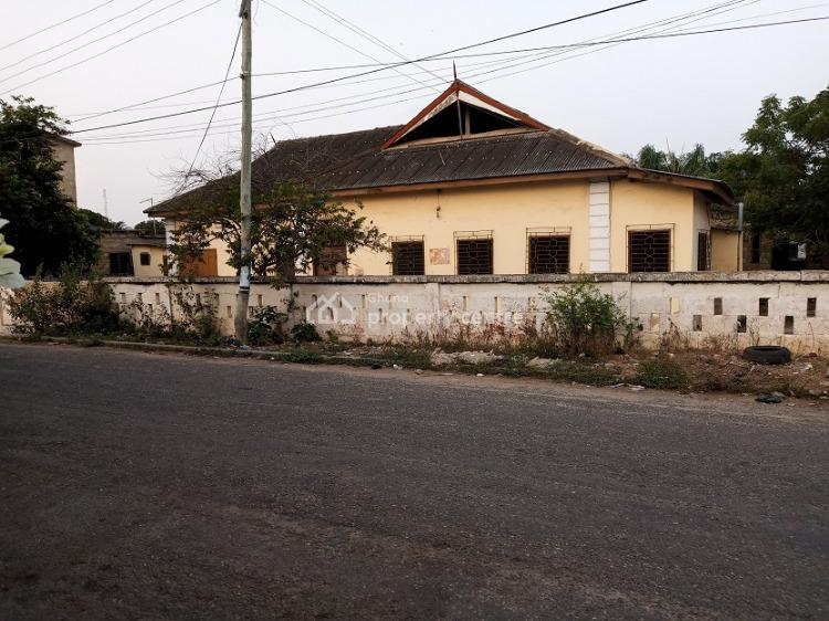 Old Property on 1 Plot of Title Land Fence Walled, Osu, Osu, Accra, Mixed-use Land for Sale