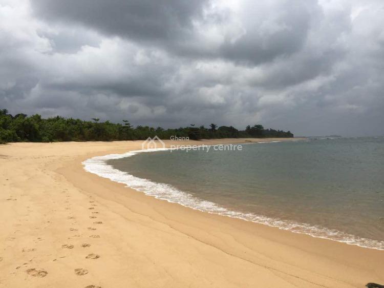 Registered 49.24 Acres Beach Front Land, Kanfakrom - Western Region, Ahanta West, Western Region, Mixed-use Land for Sale