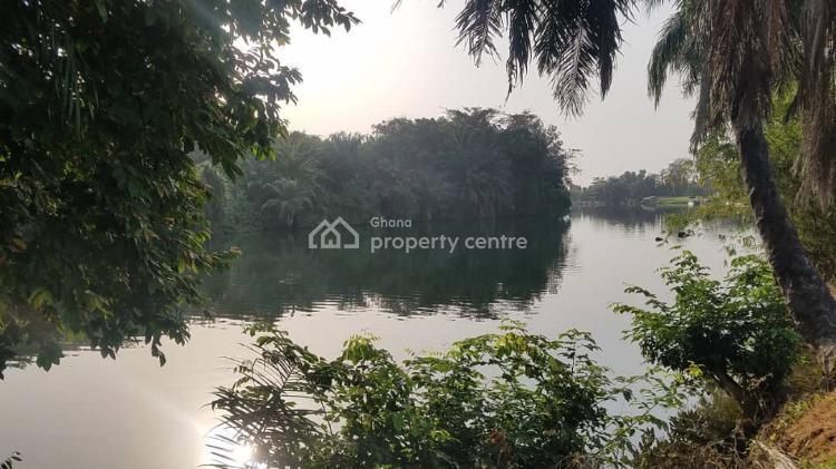 Registered 3 Acres (16 Plots) River Front Land, Senchi, Asuogyaman, Eastern Region, Mixed-use Land for Sale