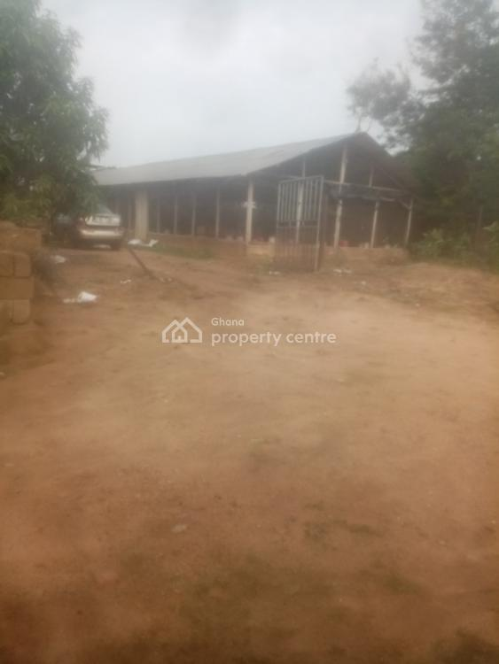 4.5 Plots with 3 Single Rooms with 3 Large Poultry Structures, Adjen Kotoku Road, Around Voltic Company, Ga West Municipal, Accra, Commercial Property for Sale