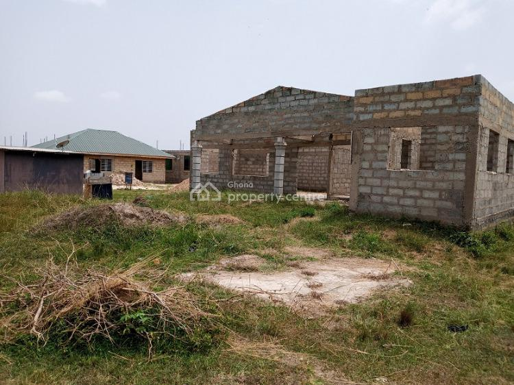 Uncompleted 5 Bedrooms House, Kpone Katamanso, Accra, Townhouse for Sale