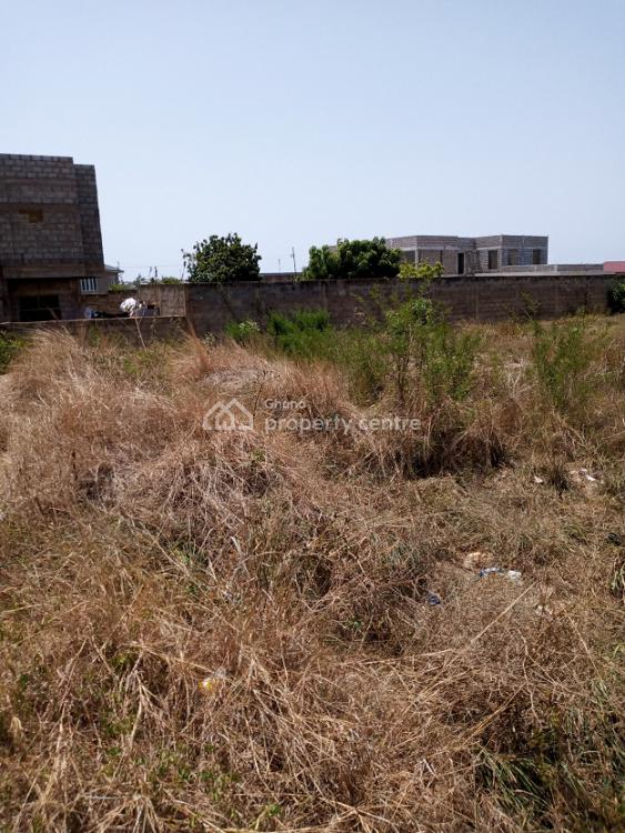 3&half Plots of Roadside Land Walled at Tse Addo-airport Hill, Tse Addo-airport Hills, Labadi-aborm, Accra, Residential Land for Sale