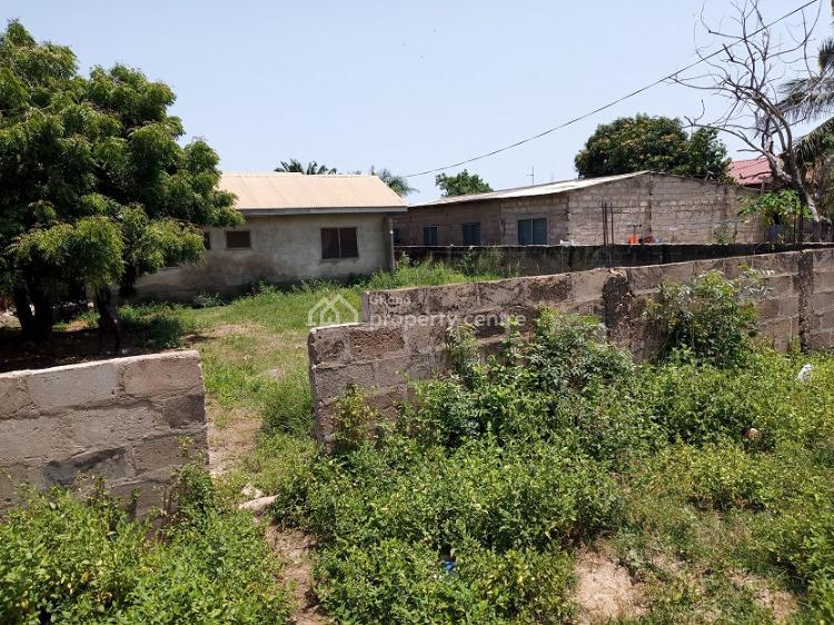2 Plot of  Land Walled, Teshie-lakma Hospital Area, Teshie New Town, Accra, Residential Land for Sale