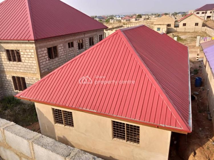 Uncompleted Newly 3 Bedrooms House All En-suite, Ga-odumase Near Pokuase, Accra Metropolitan, Accra, Terraced Bungalow for Sale